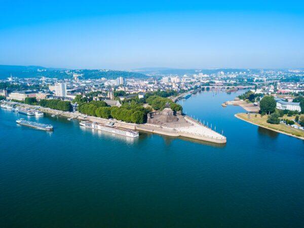 Koblenz – orasul de la confluenta Rinului cu Moselului
