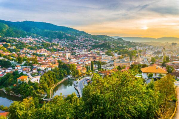 Sarajevo, un mix deosebit